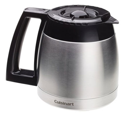 9. Cuisinart DGB-600RC Stainless Thermal Carafe