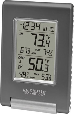 9. La Crosse Technology WS-908U-IT IN/OUT Temperature Station
