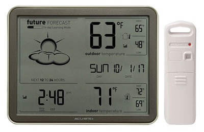 4. AcuRite 75077 Weather Forecaster