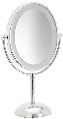 2. Conair Lighted Makeup Mirror (Double-Sided)