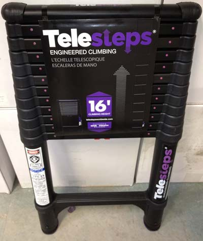 10. Telesteps 1600ET Telescoping Extension Ladder