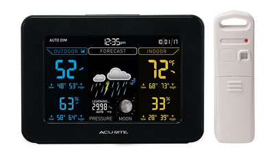 2. AcuRite 02027A1 Color Weather Station