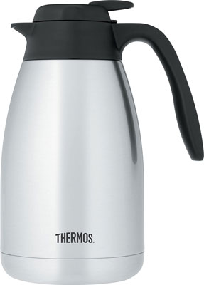 8. Thermos 51 Ounce Stainless Steel Carafe