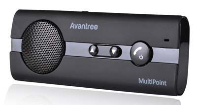 5. Avantree Bluetooth In-Car Speakerphone