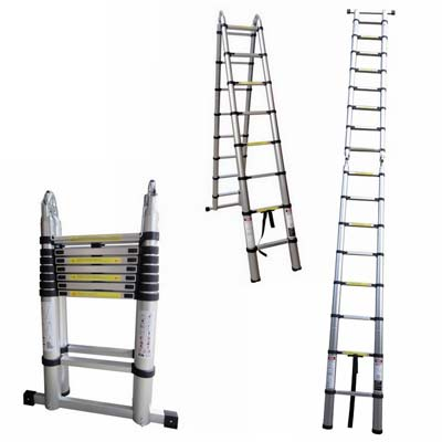 9. Homegear Telescopic Extension Ladder