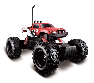 1. Maisto R/C Rock Crawler Radio Control Vehicle