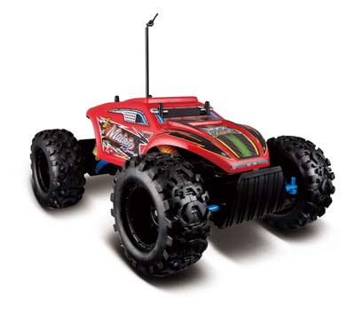 7. Maisto R/C Rock Crawler Extreme Radio Control Vehicle