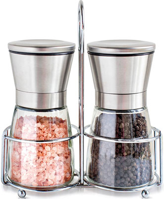 8. Willow & Everett Salt and Pepper Grinder Set