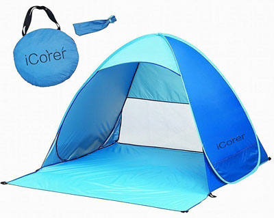 3. iCorer Pop Up Portable Tent