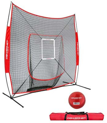 6. PowerNet DLX Baseball and Softball Net