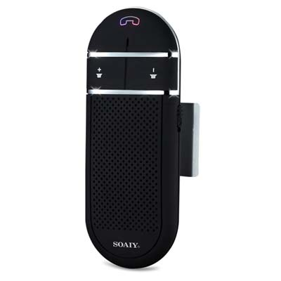 2. SOAIY S-31 Car Bluetooth Speakerphone