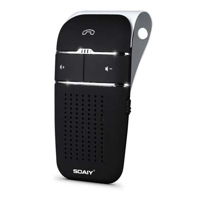 1. SOAIY S-32 Bluetooth Speakerphone