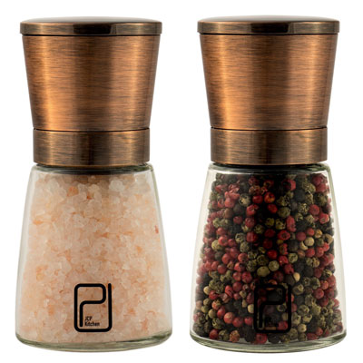 9. JCPKitchen Stainless Steel Salt and Pepper Grinder Set