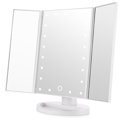 5. Easehold Lighted Makeup Mirror