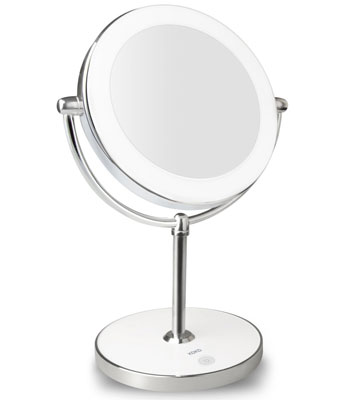 8. KDKD Double Sided Lighted Makeup Mirror