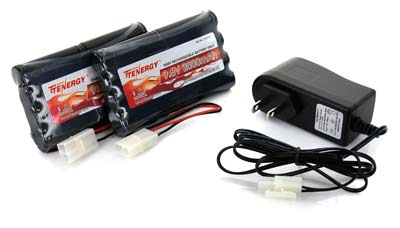 4. Tenergy NiMH Battery for RC Car