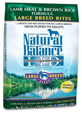 10. Natural Balance Dry Dog Food