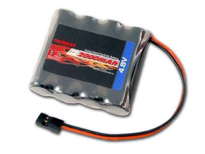 8. Tenergy NiMH Receiver BX Battery
