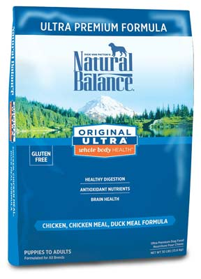 6. Natural Balance Whole Body Dog Food