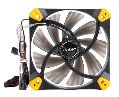 9. Antec TrueQuiet 120 Cooling Fan