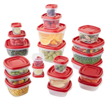 1. Rubbermaid 1880801 Food Storage Container (42-Piece Set)
