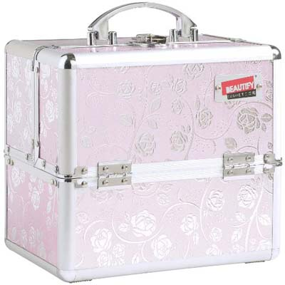 3. Beautify Cosmetics & Makeup Train Case