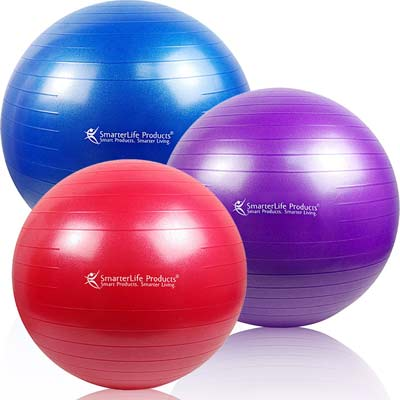 3. SmarterLife Products Stability Ball