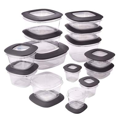 7. Rubbermaid Food Storage Containers (28 Piece Set)