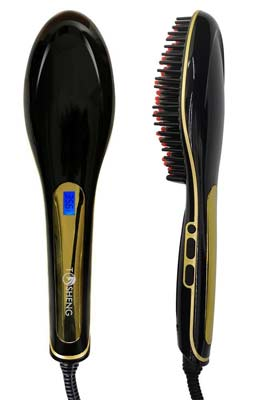 2. Tosheng Hair Straightener Brush