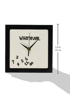 3. Whatever Wall Clock