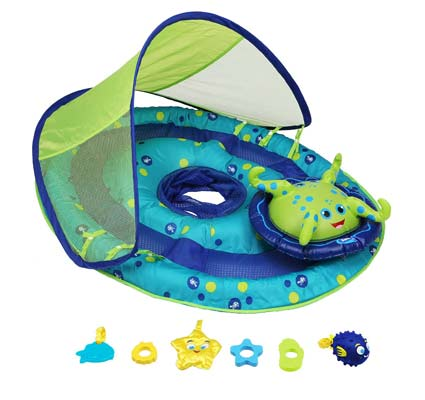 1. SwimWays Baby Spring Float Activity Center