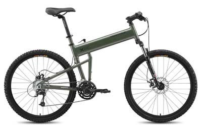 6. Montague Mountain Folding Bike