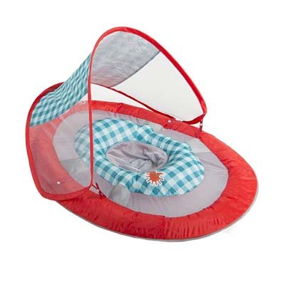 2. SwimWays Baby Spring Float Sun Canopy