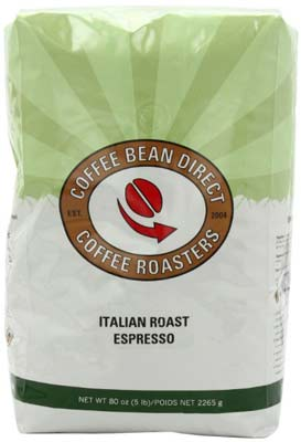5. Coffee Bean Direct Italian Roast Espresso