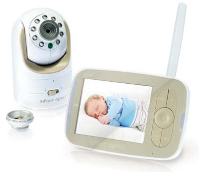 2. Infant Optics DRX-8 Video Baby Monitor
