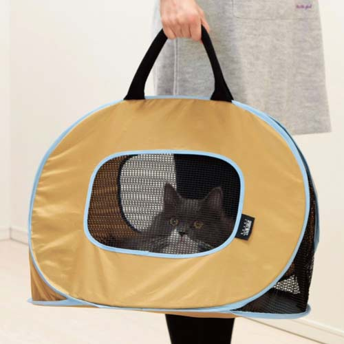 4. Portable Ultra Light and Sturdy Cat Carrier