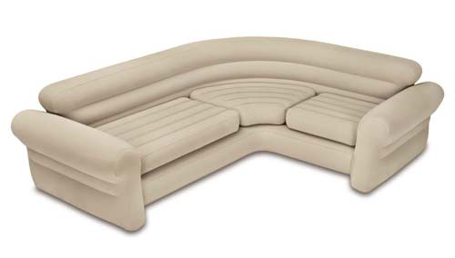 6. Intex Inflatable Corner Sofa