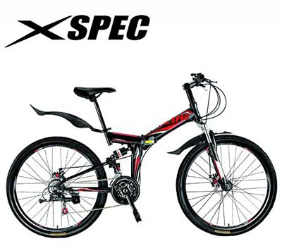 3. Xspec Folding Mountain Bike