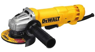 1. DEWALT DWE402 Paddle Switch Angle Grinder