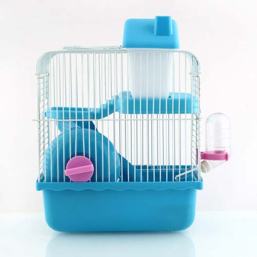 4. Amzdeal Pet Carrier Dwarf Hamster Cage