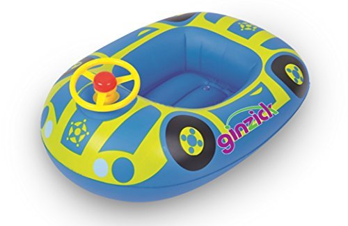 3. Ginzick Babies Kids Swimming Inflatable Car Float