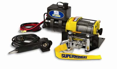 4. Superwinch UT3000 Winch (1331200)
