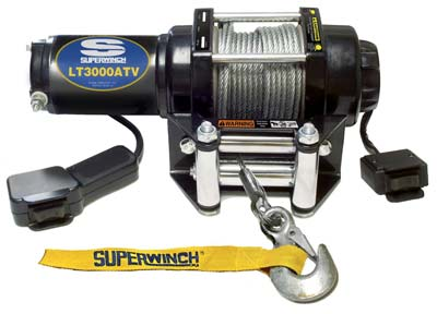 2. Superwinch Winch (LT3000ATV 1130220)