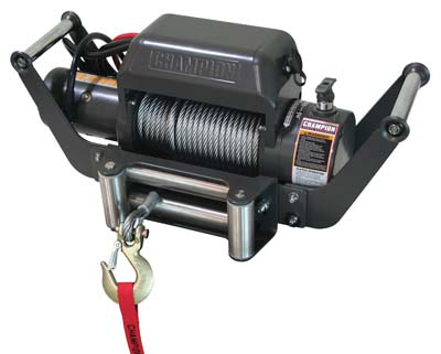10. Champion Power Equipment Winch
