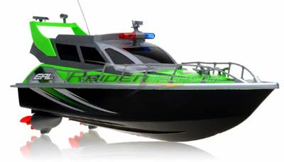 7. Police Speed RC Boat