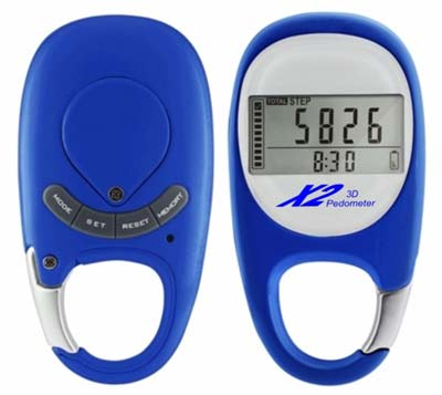 9. X2 Innovations Pocket Digital Pedometer