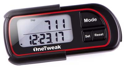10. OneTweak Pedometers