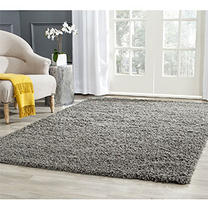 9. Safavieh SGA119C Athens Shag Collection Area Rug
