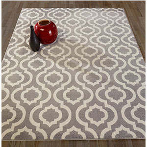 6. Diagona Designs Moroccan Trellis Design 8 by 10 Area Rug