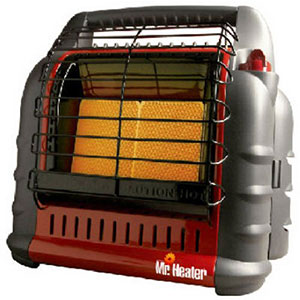 1. Mr. Heater Portable Propane Heater (MH18B)